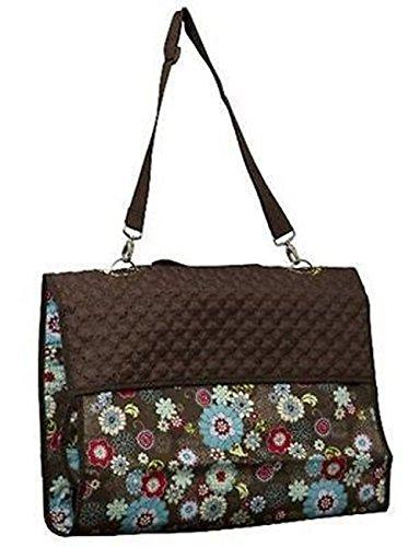 Thirty One Garment Bag Floral Fanfare Travel Large Organizer Retied