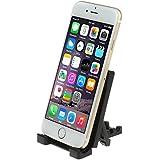 iKross mini noir universelle Support portable pliante bureau pour Smartphones, iPhone 6/6s/6 Plus/6s Plus, lecteur mp3