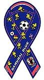【期間限定生産】ウッドストック × サッカー日本代表「SAMURAI BLUE」 コラボ リボンマグネット