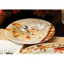 Autumn Inspirations Plates - S/4