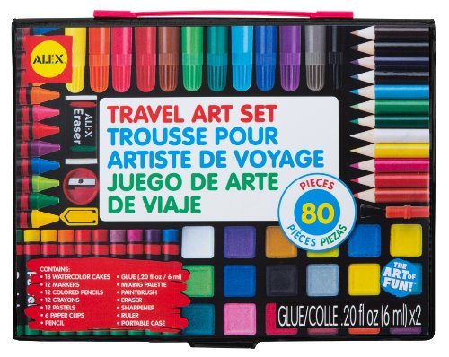 ALEX Toys Artist Studio Travel Art Set with Carrying Case - 1