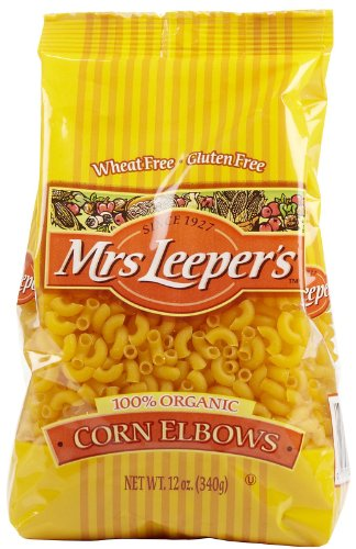 Mrs. Leeper's Corn Elbows Organic Pasta - 12 oz (Mrs Leepers Corn compare prices)
