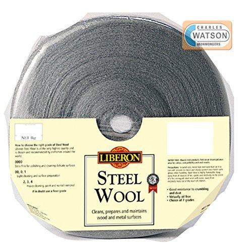 Liberon 1Kg 0000 Ultra Fine Grade Steel Wire Wool by Liberon (Liberon Steel Wool 0000 compare prices)