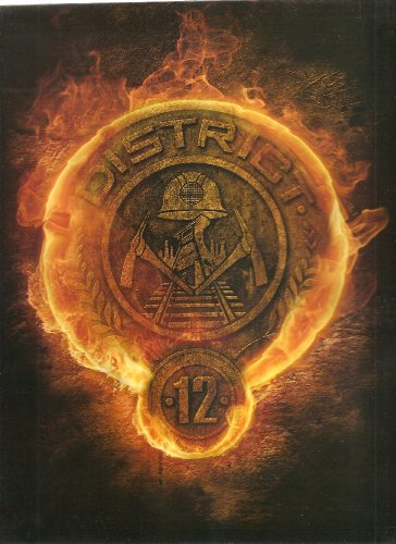 NECA 2 Pocket Folder - The Hunger Games - District 12 Logo