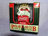 Coca Cola 1998 Baby's First Christmas Coke Christmas Ornament from Polar Bear Cub Collection