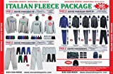 Anaconda Sports® Italian Fleece Basketball Team Package (Call 1-800-398-7625 to order)