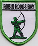 Robin's Hood Bay North Yorkshire County Flag Embroidered Patch Badge