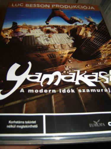 Yamakasi - Les samoura?des temps modernes   Region 2 DVD   Hungarian Release   Audio Tracks : French 5.1 , Hungarian 5.1   Subtitle : Hungarian   NO ENGLISH OPTIONS!!! by Ariel Zeitoun by Ariel Zeitoun
