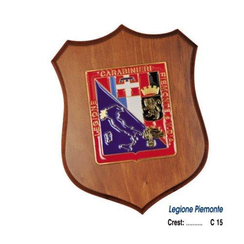 Giemme articoli promozionali - Crest Arma Dei Carabinieri Legione Piemonte E Valle D' Aosta Prodotto Ufficiale