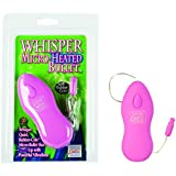 Whisper Micro Heated Bullet with Separate Controls, Pink