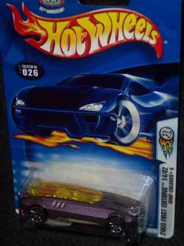2003 First Editions -#14 Whip Creamer 2 #2003-26 Collectible Collector Car Mattel Hot Wheels - 1