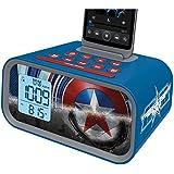 Avengers Initiative Dual Alarm Clock Speaker System, MC-M23