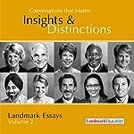 Conversations That Matter: Insights & Distinctions - Landmark Essays, Volume 2 | Steve Zaffron,Laurel Scheaf,Mark Spirtos,Jane Wright,Cathy Elliott