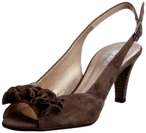 Gabor Women's Dazzling Suede Fango Open Toe 41.800.13 6.5 UK