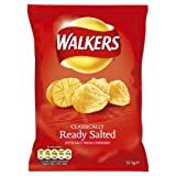 Walkers Ready Salted 32.5 g (Pack of 48)