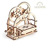 3D Holzpuzzle SCHATULLE mechanischer Baukasten BOX Geschenkidee KÄSTCHEN