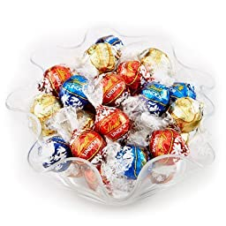 Lindt LINDOR Assorted Chocolate Truffles 120 count (40 Milk 40 Dark & 40 White)