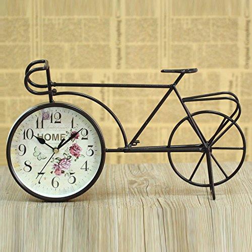 LFX Retro clock retro bicycle gifts clock students study European ornaments 2
