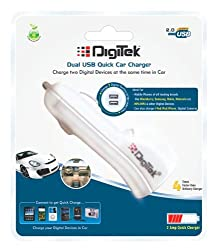 Digitek Dual USB Car Charger DMC-003