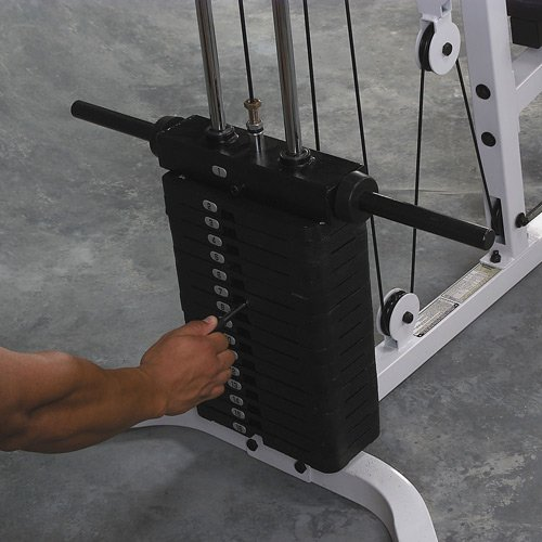 Body Solid 150-Pound Weight Stack for use  Powerline