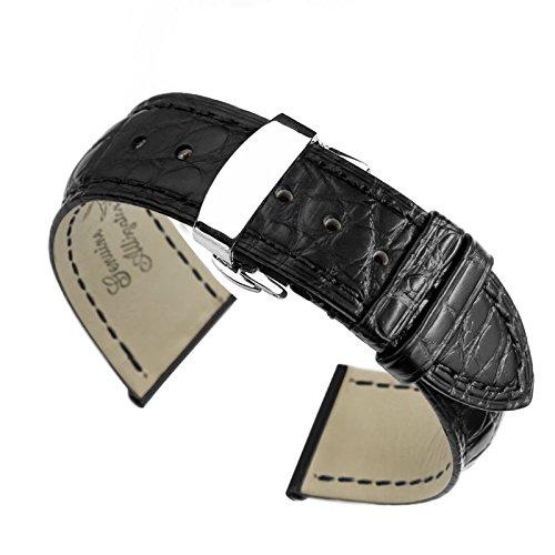 21-mm-nero-sostituzione-di-fascia-alta-cinturini-per-orologi-in-pelle-di-alligatore-band-per-orologi