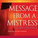 Message from a Mistress (       UNABRIDGED) by Niobia Bryant Narrated by Soozi Cheyenne