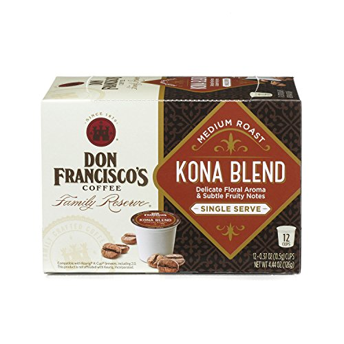 Don Francisco's Kona Blend, 12 count Single Serve Coffee Family Reserve (Packaging May Vary) (K Cups Coffee Hawaiian Blend compare prices)