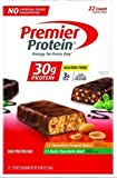 Premier High Protein 2.53 Oz Bars; 11 Chocolate Mint, 11 Peanut Butter=22 Total Bars by Premier