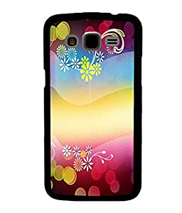 printtech Flower Bokeh Pattern Back Case Cover for Samsung Galaxy J5::Samsung Galaxy J5 J500F