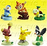 Image of Pokemon Diamond & Pearl Buildable Figure Series 3 - Capsule TOYS Set of (6)