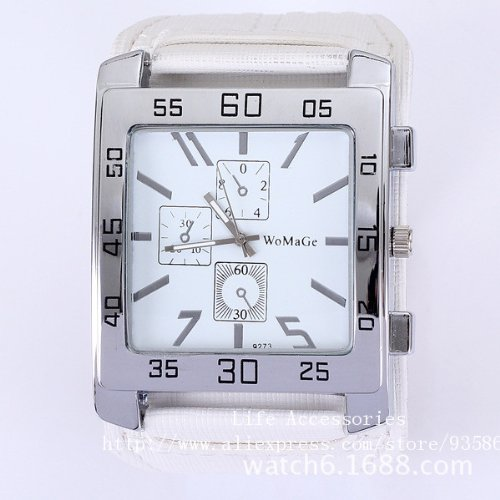 Square Watch Men And Women Unisex Wristwatch Luxury Brand Fashion Quartz Watches Wamage-05