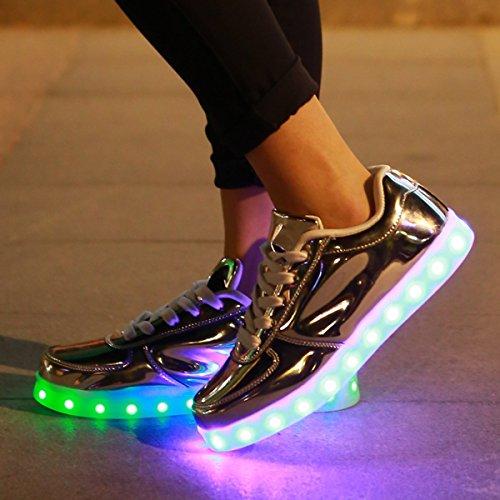 DoGeek,Unisex,7,Colors,USB,Carga,LED,Zapatos,