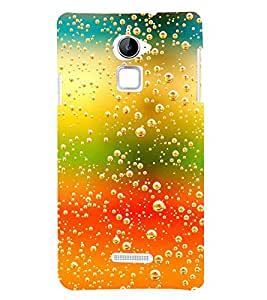 Snapdilla Simple Good Looking Colorful Water Foam Bubbles Pattern Modern Smartphone Case for Coolpad Note 3 Lite :: Coolpad Note 3 Lite Dual SIM