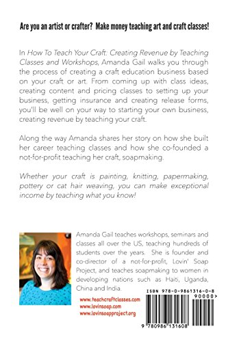 How to Teach Your Craft: Creating Revenue by Teaching Classes and Workshops