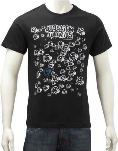 Joystick Junkies Mens T-Shirt Packzilla Jet Set Black Pkz-Blsmxx Small