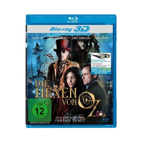 Die Hexen von OZ (TV-Zweiteiler) (Extended Uncut Edition) [Blu-ray 3D]