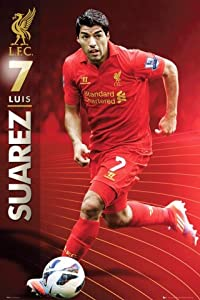 Posters: Soccer Poster - Liverpool FC, Luis Suarez 2012/13 (36 x 24 inches) by 1art1 GmbH