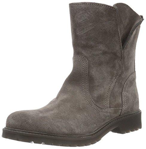 Buffalo London8036 SUEDE - Stivali a metà polpaccio con imbottitura leggera Donna , Grigio (Grau (Taupe 01)), 36 EU