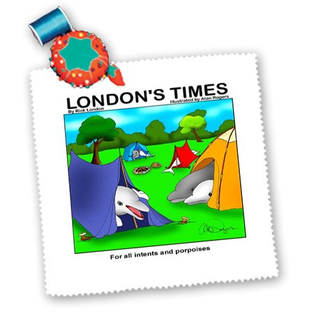 Qs_1737_2 Londons Times Funny Society Cartoons - For All In Tents And Porpoises - Quilt Squares - 6X6 Inch Quilt Square front-385754