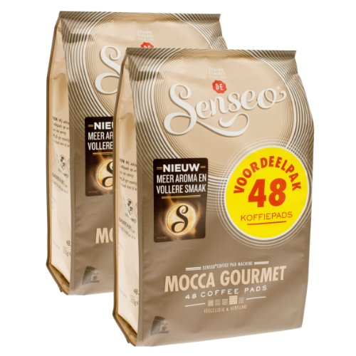 Buy Senseo Mocca Gourmet, New Design, Pack of 2, 2 x 48 Coffee Pods from Douwe Egberts