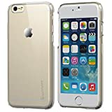 iPhone 6 Case, LUVVITT CRISTAL Hard Shell Anti-Scratch Transparent Clear Back Case for iPhone 6 Air / iPhone Air Case / 4.7 inch Screen (Does NOT fit iPhone 5 5S 5C 4 4s or iPhone 6 Plus 5.5 inch screen) - Crystal Clear iPhone 6 Case - Wireless Phone Acc