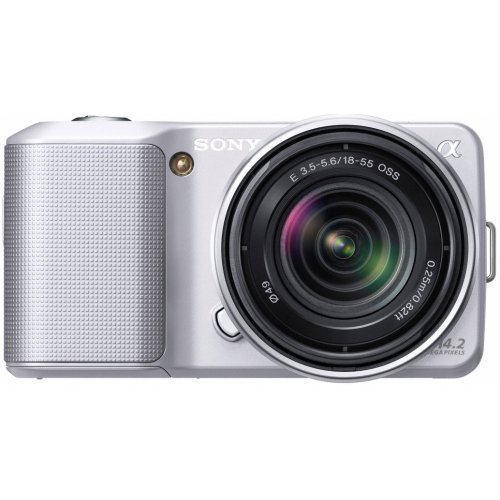Sony NEX3KS Alpha Compact System Camera - 18-55mm F3.5-5.6 OSS Lens - Silver