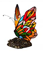 ARTE DAL MONDO Lámpara De Mesa Farfalla