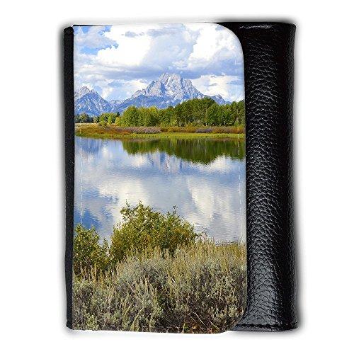 Cartera unisex // F00002418 Parco Nazionale Oxbow Bend Grand Teton // Medium Size Wallet
