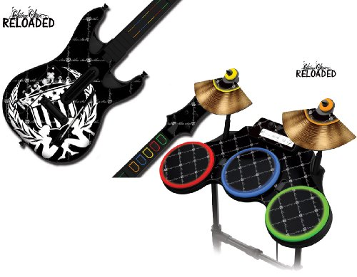 Protective skins for Guitar Hero 4