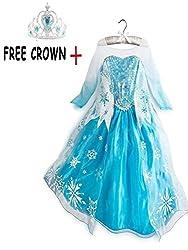 Elsa Dress for Kids (2-4 YRS)
