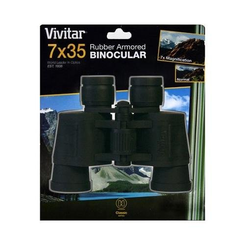 Vivitar Optics 7X35 Classic Series Rubber Armored Binoculars