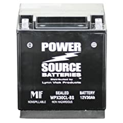 Buy Power Source 01-367 WPX30CL-BS Sealed Battery by Powersource