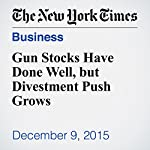 Gun Stocks Have Done Well, but Divestment Push Grows | Andrew Ross Sorkin