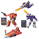 Transformers Generations Titans Return Voyager Wave 1 Set of 2 Action Figure (Sentinel Prime & Galvatron)